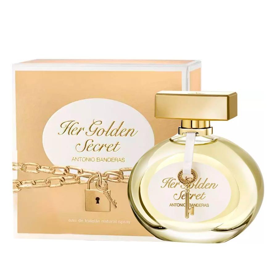 34c53847d perfume antonio banderas her golden secret feminino 80ml. Carregando zoom.