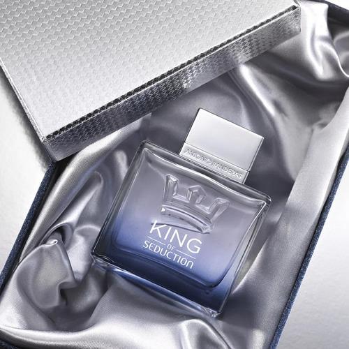 perfume antonio banderas king of seduction masculino 200ml