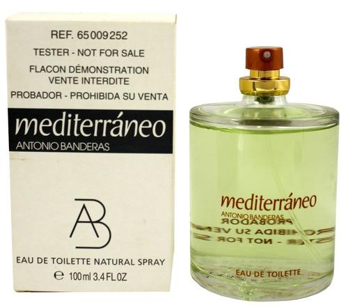 perfume antonio banderas mediterráneo 100ml edt men (tester)