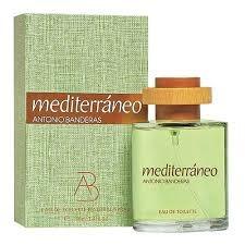 perfume antonio banderas mediterraneo 100ml para hombre