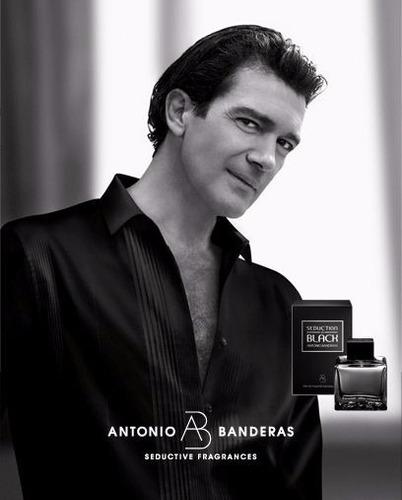 perfume antonio banderas seduction black 100ml para hombre