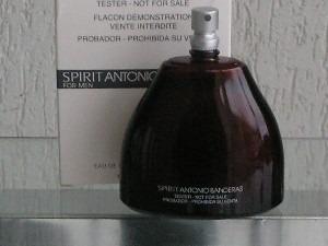 perfume antonio banderas spirit 100ml edt femin ( tester )