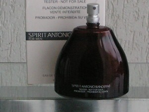 perfume antonio banderas spirit 100ml edt for men ( tester )