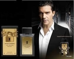 perfume antonio banderas the golden secret 200ml edt gigante