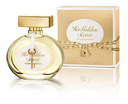 perfume antonio banderas the secret golden 80 ml women