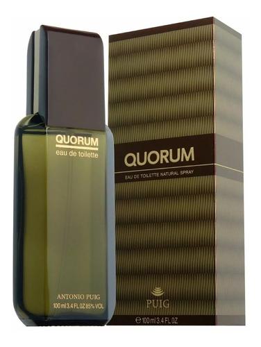 perfume antonio puig quorum masculino 100ml edt - original