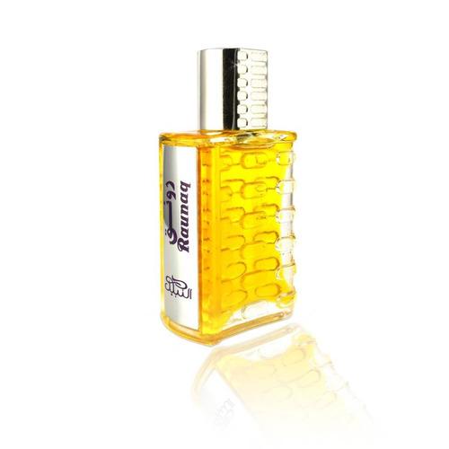 perfume árabe raunaq 20ml