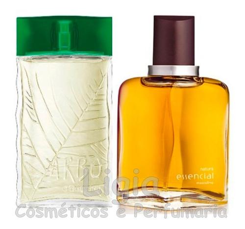 perfume arbo boticário + essencial masc natura