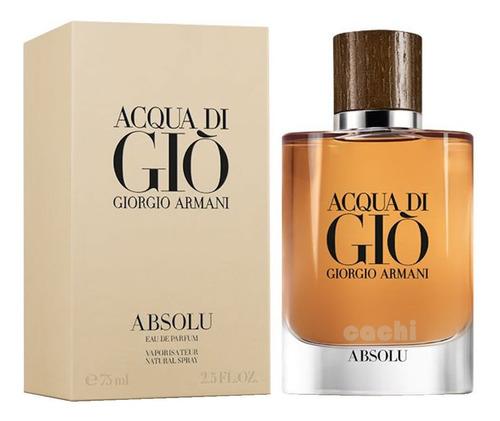 perfume armani acqua di gio absolu edp pour homme 75ml
