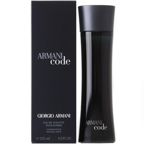 perfume armani code 125 ml edt hombre original !!