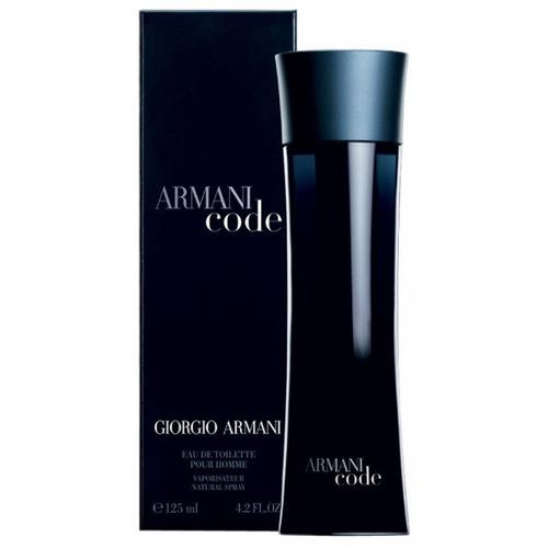 perfume armani code eau de toilette pour homme 125 ml