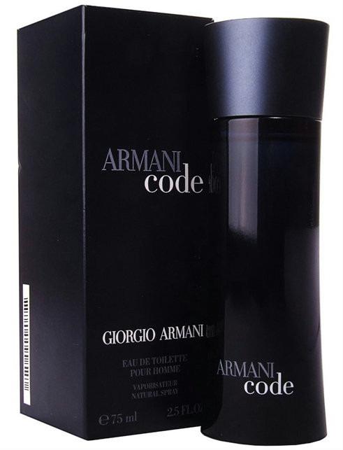 3c751bcf6c1 Perfume Armani Code Masculino Edt 75ml Original Lacrado - R  269