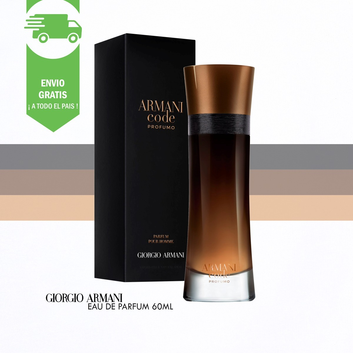 00 299 »» Code Armani 60ml Oficial Profumo Tester Perfume ««2 uOZikPXT