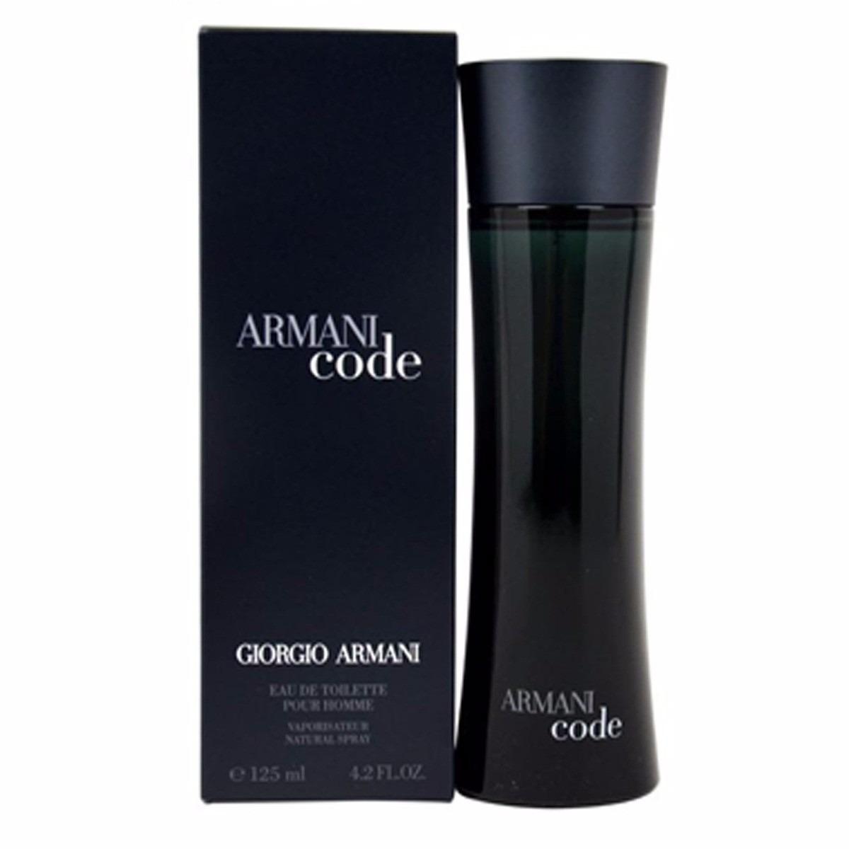 0a35f1a0439 Perfume Armani Code Masculino 125ml Giorgio Armani- Original - R ...
