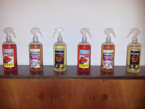 perfume aromatizante textil 500 ml varias fragancias