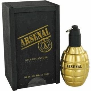 perfume arsenal gold 100ml 100% original na cx de madeira...