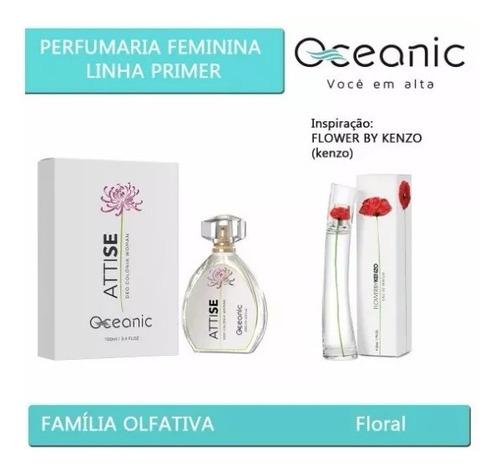 perfume attise oceanic - inspirado no flower by kenzo