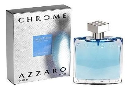 perfume azzaro chrome 100ml, caballero, 100% originales usa