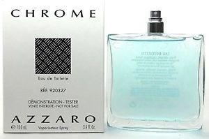 perfume azzaro chrome 100ml edt mas original (( tester ))
