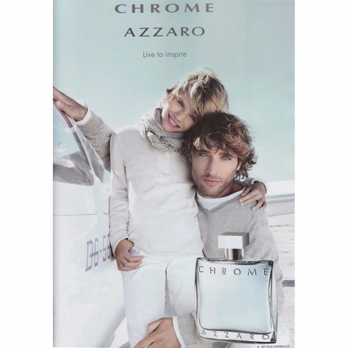 perfume azzaro chrome 100ml edt original e lacrado masculino