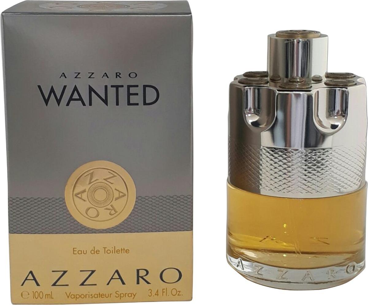 dc1f279be2 Perfume Azzaro Wanted 100ml Edt Masculino + Brinde Amostra - R  259 ...