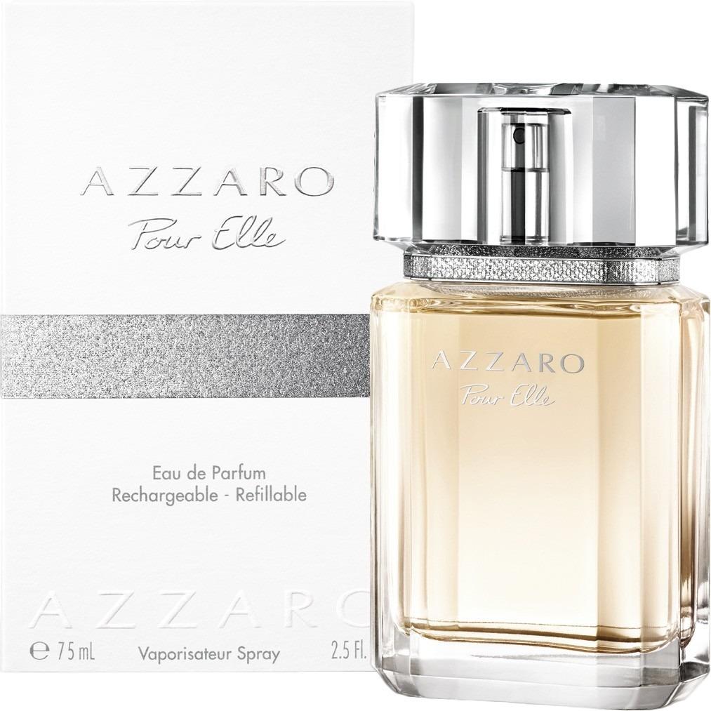 3f1769933f2 Perfume Azzaro Pour Elle Eau De Parfum 75ml Feminino - R  526