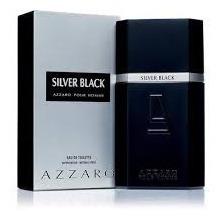 perfume azzaro silver black men 3.4oz.100ml original