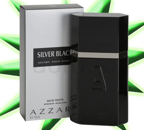 perfume azzaro silver black original 100ml pronta entrega