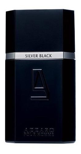perfume azzaro silver black pour homme edt 100ml original