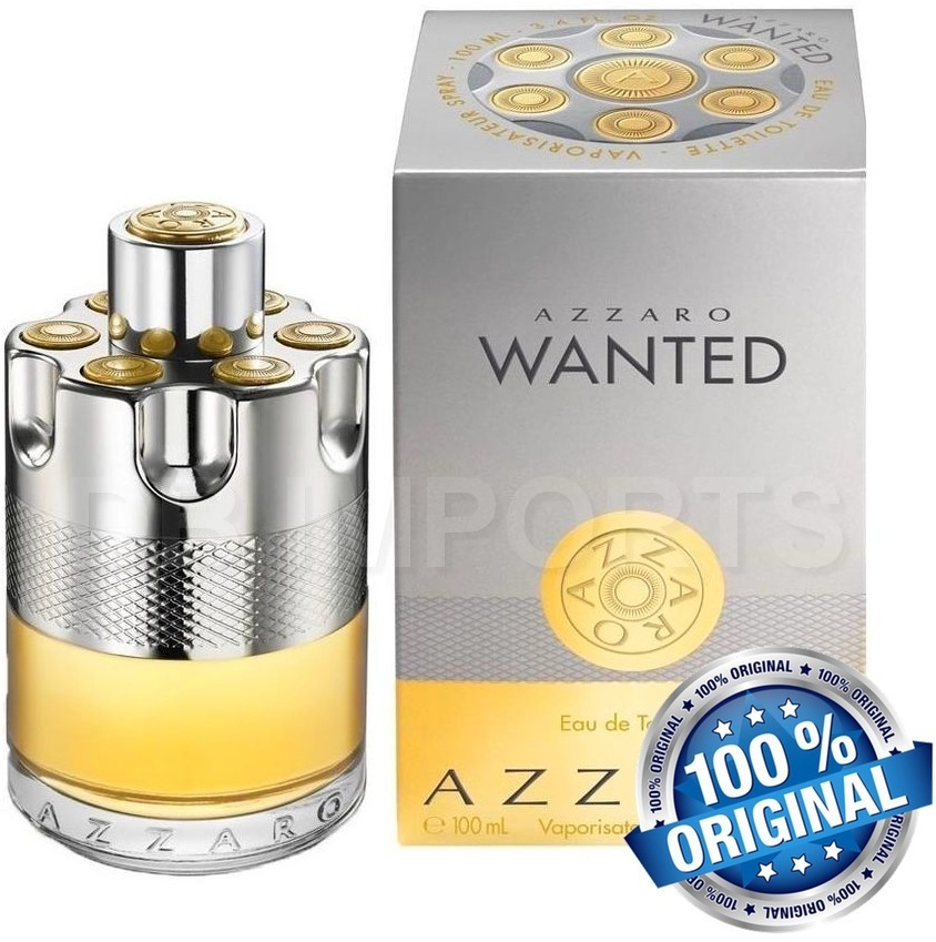 e515344771 perfume azzaro wanted 100ml lacrado original. Carregando zoom.