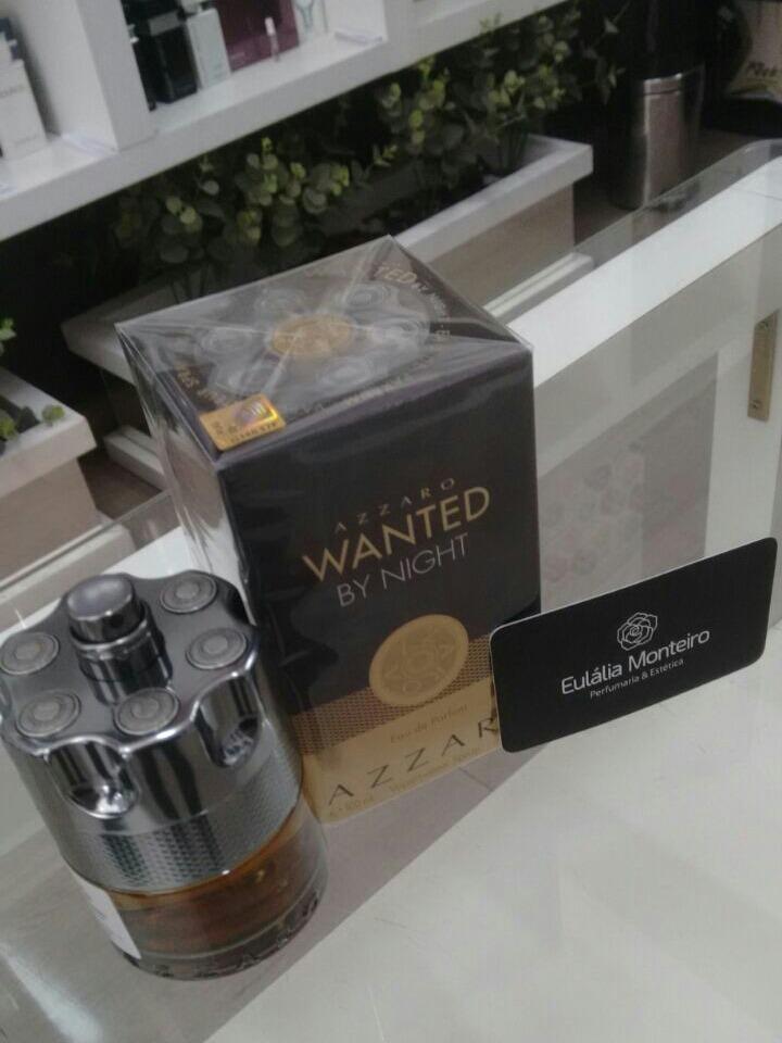 bab1806b37 perfume azzaro wanted by night 100ml (original selo adipec). Carregando zoom .