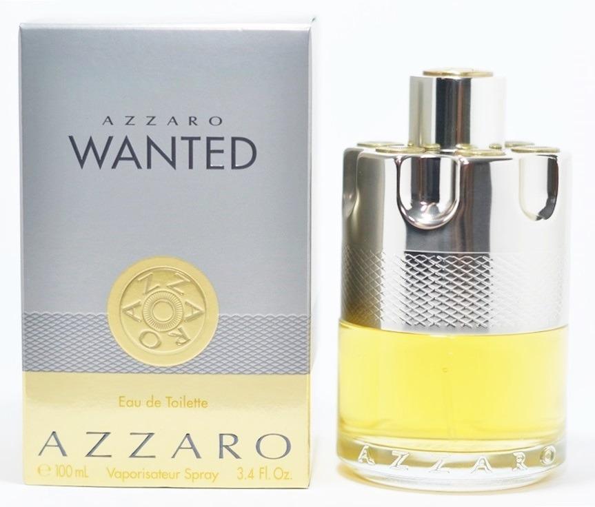 8833b83c30 Perfume Azzaro Wanted Masculino Eau De Toilette 100ml - R  229