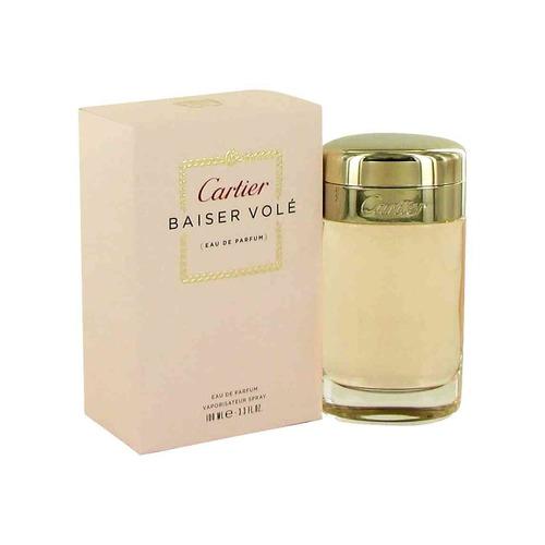 perfume baiser  vole beso robado by cartier  mujer  original