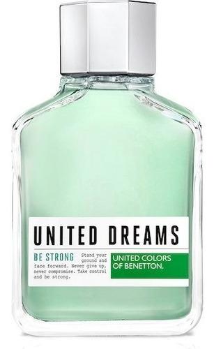 perfume benetton be strong for men 200ml lacrado selo adipec