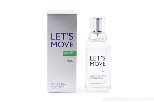 perfume benetton let´s move 100 ml men