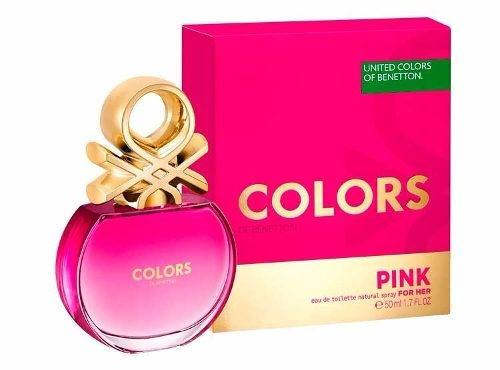 perfume benetton pinkpara ella 80 ml dama envio gratis