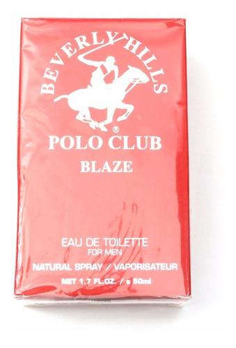 perfume beverly hills polo club blaze 50ml lacrado original