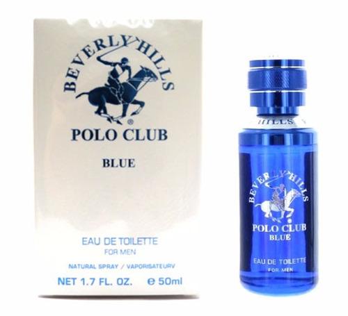 perfume beverly hills polo club blue masculino 50 ml