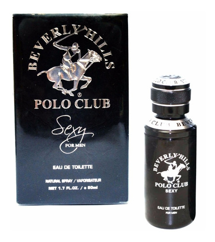 perfume beverly hills polo club sexy for men 50 ml