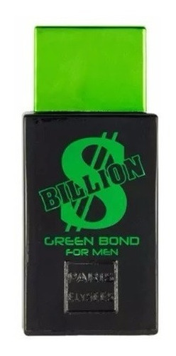perfume billion green bond for men paris elysees edt 100m