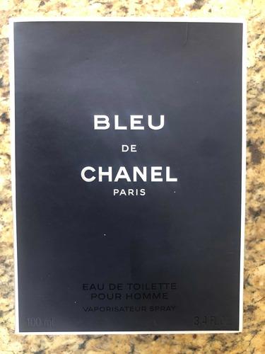 perfume bleu chanel