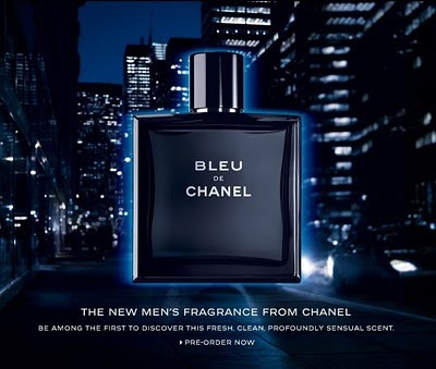 perfume bleu de chanel - blue de chanel