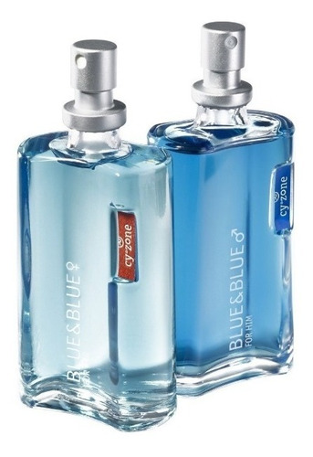 perfume blue & blue  cyzone, 75 ml original