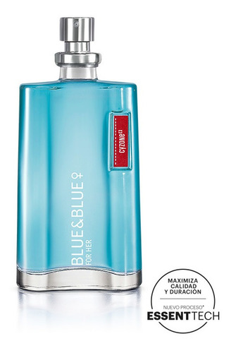 perfume blue & blue for her - cyzone