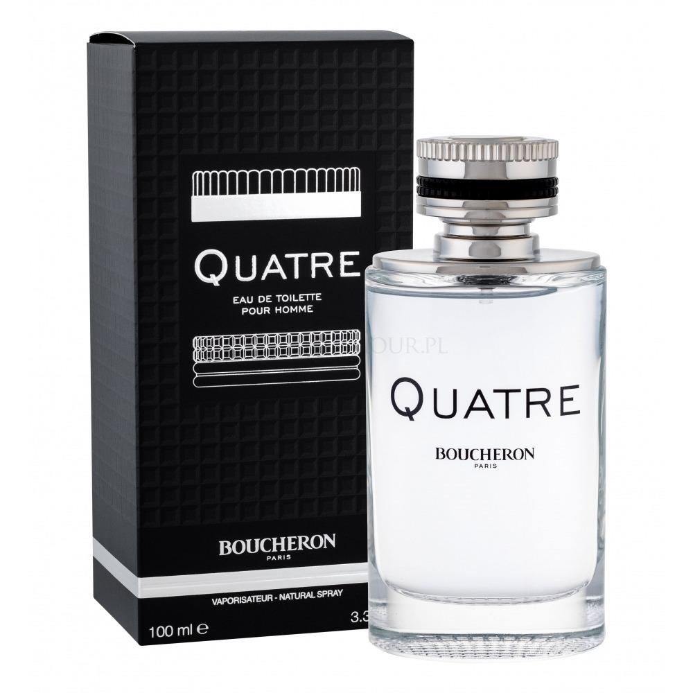 Quatre Homme Edt Novo 100ml Perfume Boucheron Pour kuPXZi