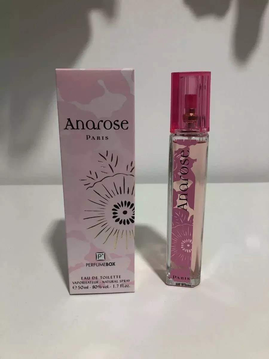 Ana Rose perfume box ana rose paris 50ml original
