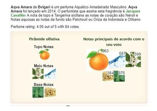 perfume bulgari aqua amara amostra decant 5ml original