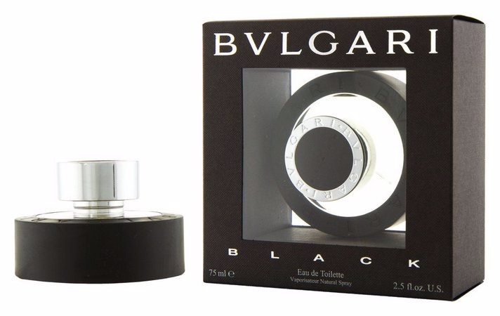 ebf95c3ecd2 Perfume Bulgari Black 75ml Bvlgari Black - Original  Lacrado - R ...