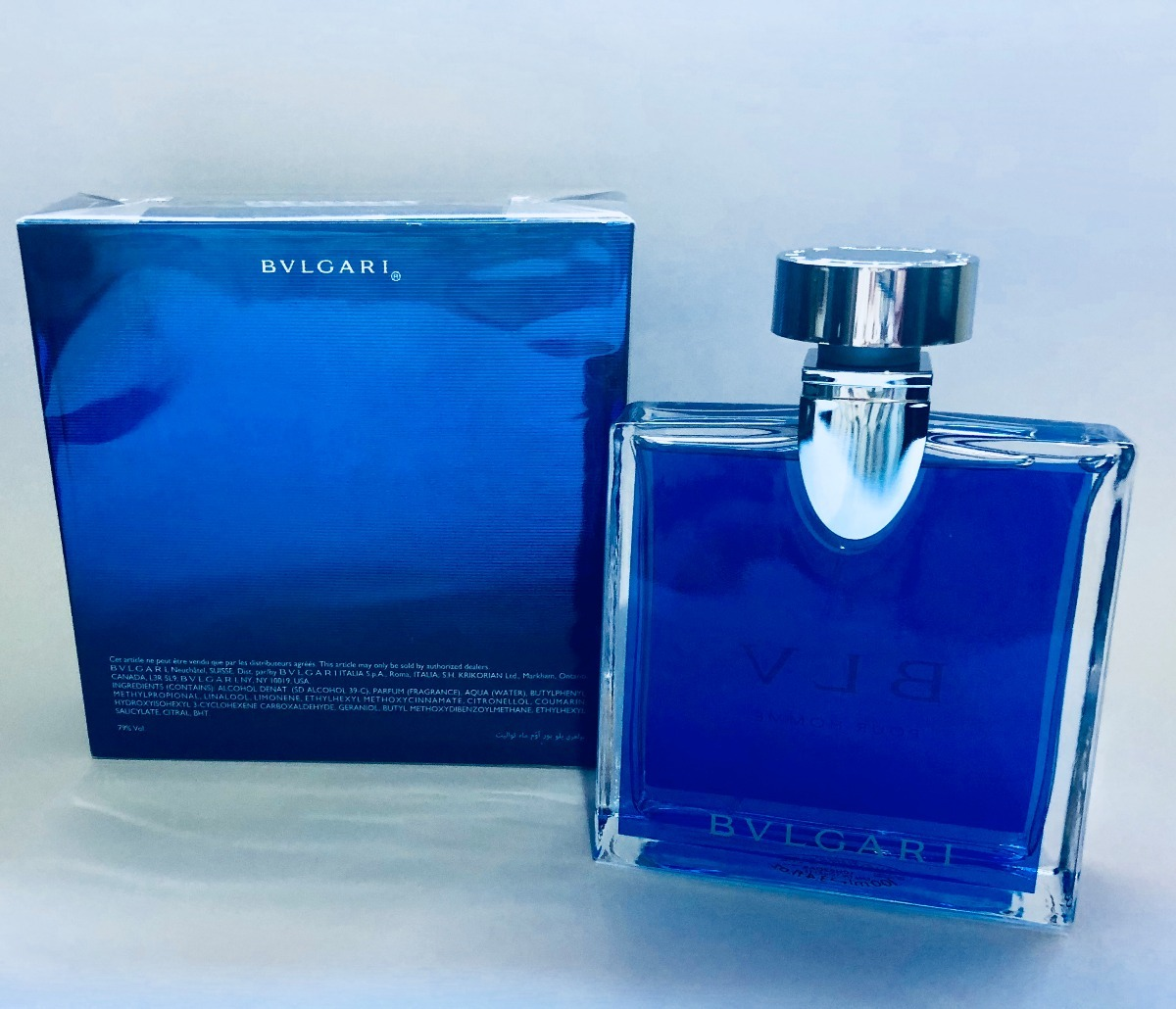 c5ee81b7d7 Perfume Bulgari Blv Masculino 100ml Oficial - R  244