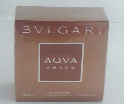 1e16d7c951 Perfume Bvlgari Aqva Amara 100ml Edt Original 12x Sem Juros. - R  199